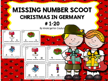 Christmas In Germany Missing Number Scoot