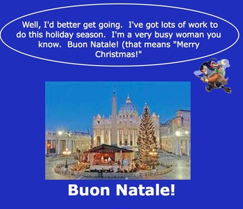 "Christmas In Italy- ""Holidays Around the World"""