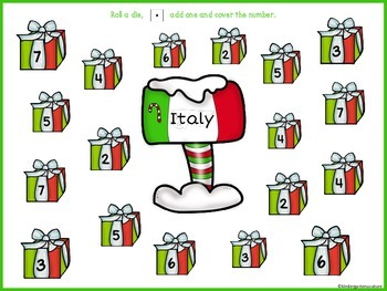 Christmas In Italy Roll and  Cover