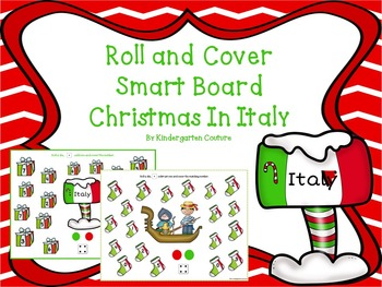 Christmas In Italy Roll and Cover SMART Board