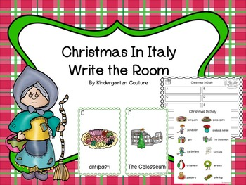 Christmas In Italy Write The Room