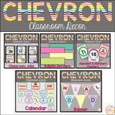 Chevron Classroom Theme Decor Bundle