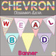 Classroom Decor Bundle[Chevron ThemeClassroom