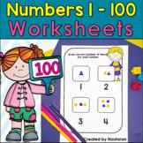 Numbers To 100: Numbers 1-100 Worksheets