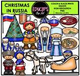Christmas In Russia Clip Art Bundle {Educlips Clipart}
