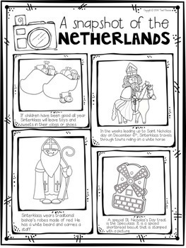 Christmas Around The World {Netherlands}