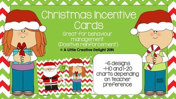 Christmas Incentive Cards