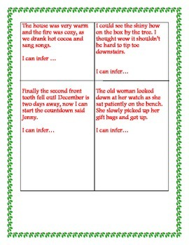 Christmas Inference