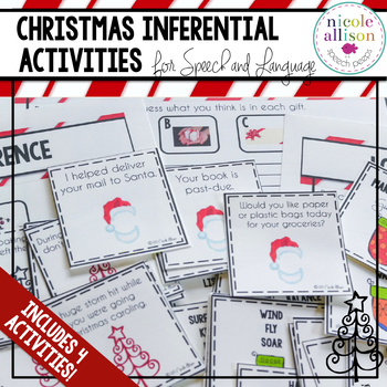 Christmas Inference and Problem Solving Activities