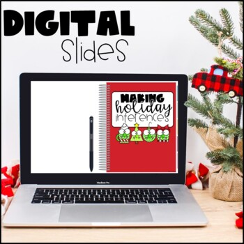 Making Inferences: Christmas/Holiday Inferencing Activity