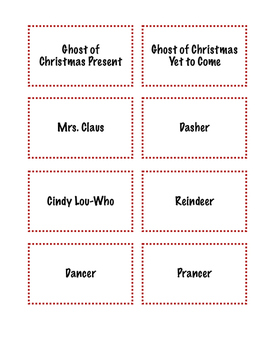 Christmas Inferencing Activity Cards