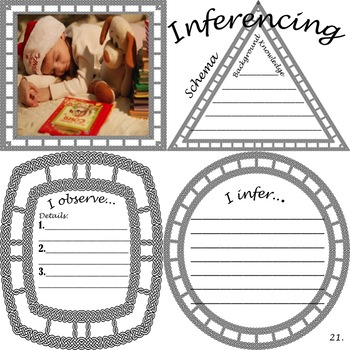 Inferencing Pictures: Describing & Inferring before Christmas
