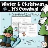 Christmas Informational Close Reading and Math Fun!