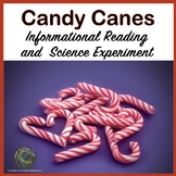 Christmas:  Informational Reading about Candy Canes with Science Experiment