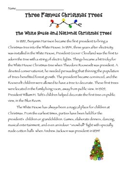 Christmas Informational Text