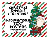 Christmas Informational Text Posters and Coloring Book