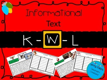 Christmas  Informational Text with KWL Chart