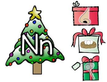 Christmas Initial/Beginning Sounds