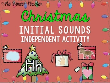 Christmas Initial/Beginning Sounds