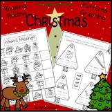 Christmas Kindergarten Literacy and Math Activities