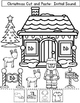 Christmas Initial Sound Worksheets: Cut and Paste Activities for Kindergarten