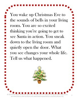 Christmas-Inspired Writing Prompts
