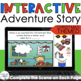 Christmas Interactive Adventure BOOM Story Book for Preschool Speech Therapy
