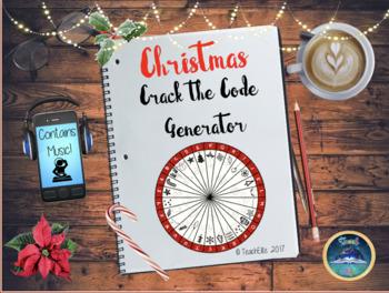 Christmas: Interactive Crack the Code Wheel
