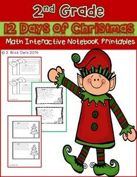 Christmas Interactive Math (2nd Grade)
