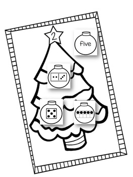 Christmas Interactive Math Book