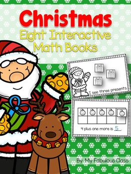 Christmas Interactive Math Book