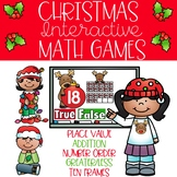 Christmas Interactive Math Games