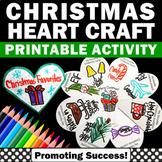 ELA Christmas Craft Activity, Foldable Christmas Interactive Notebook Craftivity