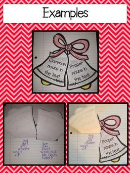 Christmas Interactive Notebook Activities and Flip Books for ANY text