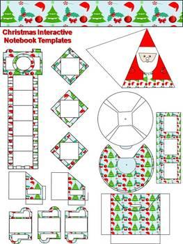 Christmas Interactive Notebook Templates