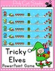 Christmas Holiday Activities Review Games: Elf & Gingerbread Man Activities