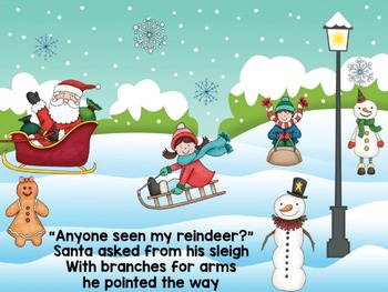 Christmas Interactive PowerPoint The Case of the Missing Reindeer