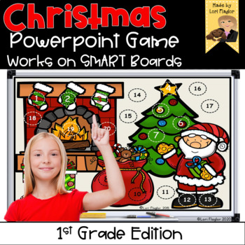 Christmas Interactive Powerpoint Math Game- First Grade Edition