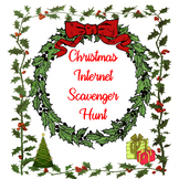 Christmas Internet Scavenger Hunt