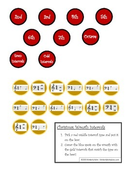 Christmas Intervals Game