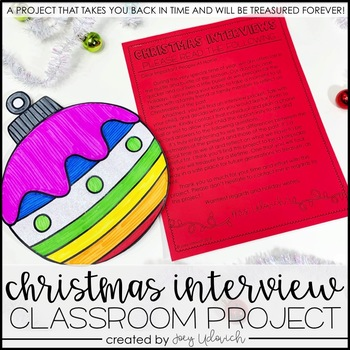 Christmas Interview: A Classroom Project
