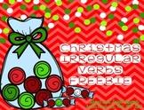 Christmas Irregular Verbs {FREEBIE}