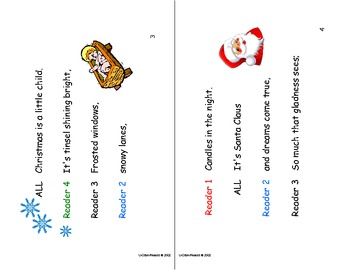 Readers Theatre: Christmas Is ...
