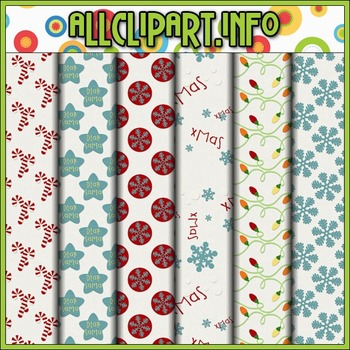 Christmas Is Coming Digital Papers
