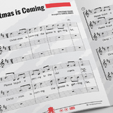 Recorder Sheet Music: Christmas Is Coming - Trio [In the Style of Round]