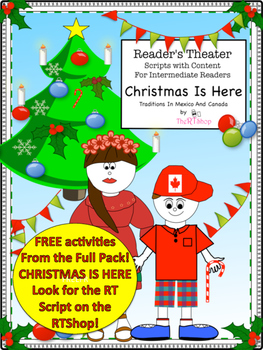 Christmas Is Here,  Free Reading Activities!