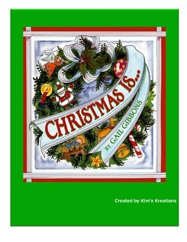 Christmas Is...Gail Gibbons Nonfiction Book Study