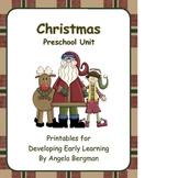 Christmas ~ JUMBO Preschool Unit