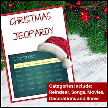 Christmas Jeopardy.Christmas Jeopardy Powerpoint