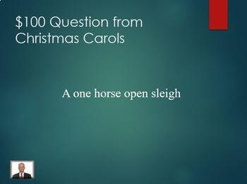 Christmas Jeopardy (PowerPoint)